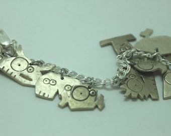 Cancer Charm: Sterling Silver Zodiac Charms