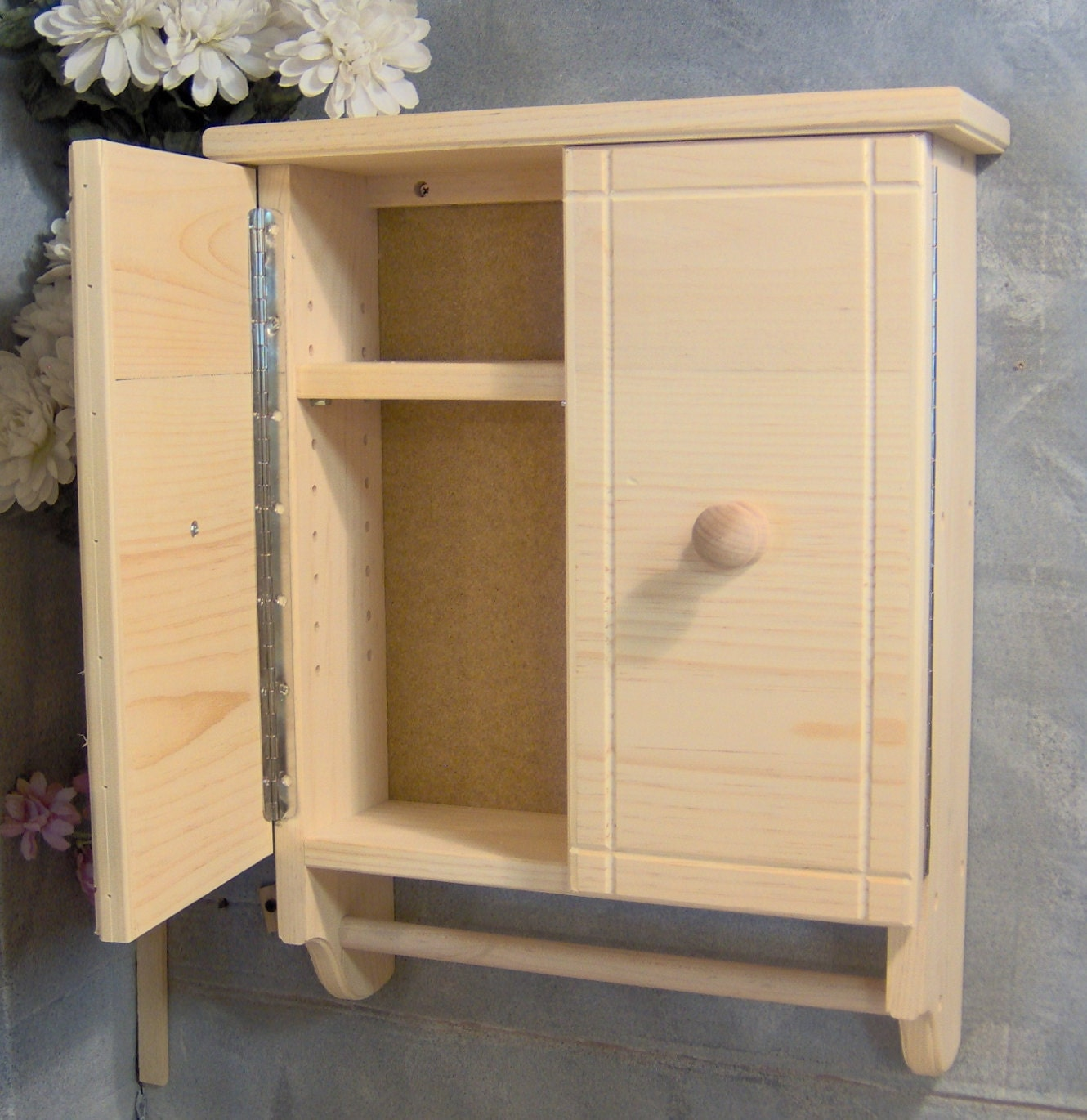 UF503 Unfinished Bathroom Cabinet Storage Lotions by jahnjed