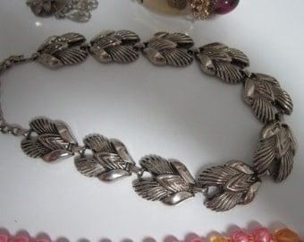 Vintage Jewelry -  Necklace Earring set Plus Free Bracelet -1960 -1970s