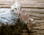 Order Your Matching Wedding Ring with Vine Motif Here