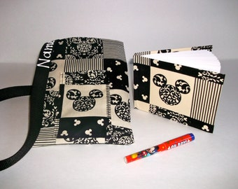 Disney Mickey Mouse autograph book bag with book, bag and pen Personalized for FREE Adjustable strap