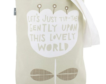 This Lovely World  - Canvas Shopping Tote (BAG1)