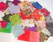 """2 1/2"""" Cotton Fabric Squares"""