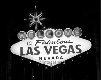 Las Vegas NEON sign Digital download / Welcome to Las Vegas / Nevada / travel photo / retro art Photograph / Home Decor