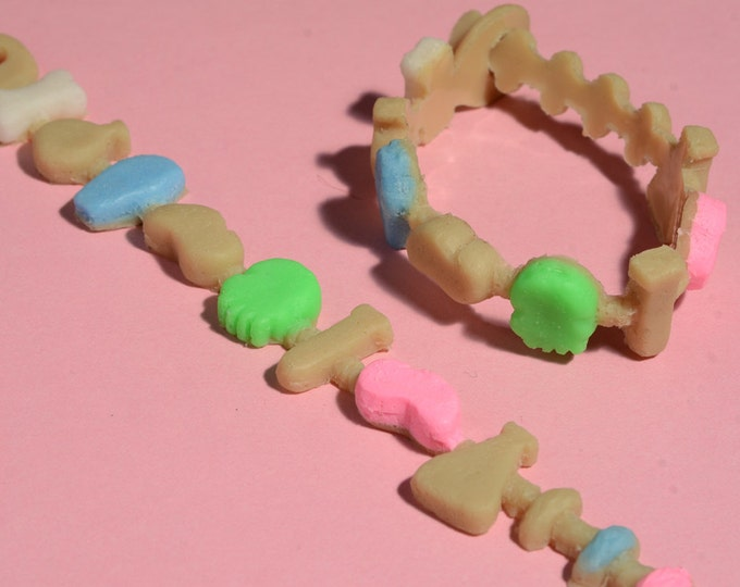 Kawaii Creepy Crunch Cereal Bracelet - Creepy Cute -Laboratory Mix