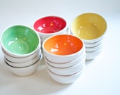 Set Of 4 Small Serving Bowls