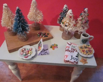 Christmas Workshop Table