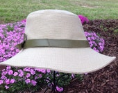 Bess Sun Hat /Leather Band