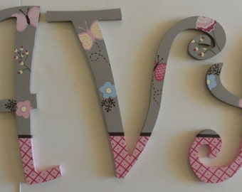 Maeberry Wall letters