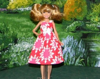STCE1-53 ) Stacie doll clothes ( pretty sundress )
