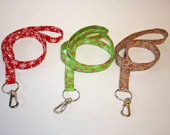 Your Choice Holiday Lanyards ID badge holder
