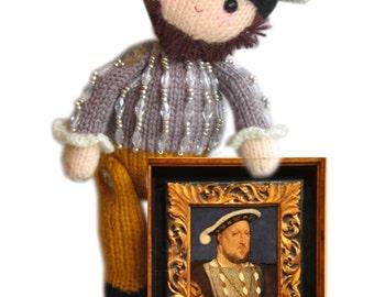 Henry VIII Pdf Email Knit PATTERN