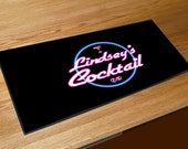 Personalised neon sign Cocktail bar sign runner pubs clubs & cocktail bars CUSTOM MADE