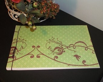 Guest Book Album - Gracious Green
