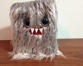 Silver Mini-Monster Journal- Two Silver Eyes