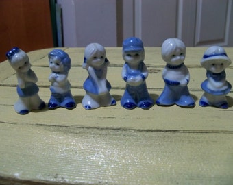 little boys and girls mini figurines