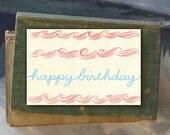 Illustrated Notecard // Birthday Cake // Single Card