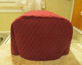 Burgundy Wine 4 Slice Modern Kitchen Toaster Cover Made To Order