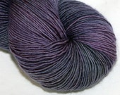 SALE--Black Dalia--Solo Cat--100% Merino single ply