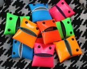 Monster Coin Purse in Bold Neon