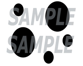 Instant Download - Spots Stencil for Totebags, Pillows, Plushies, Fursuit Making - Custom Orders are closed - Animal Creature Spots Design