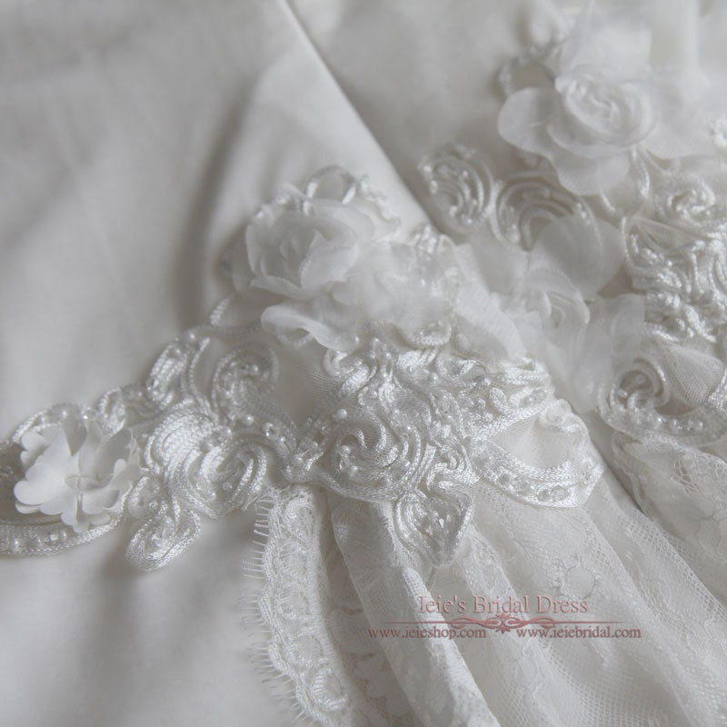 Cowl Neck Wedding Dress: Ethereal Grecian Velvet Wedding Dress With Cowl Neck Lace