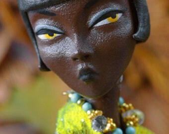 Mary Magpie fashion art Doll Pre-Order Black Mary Bon Bon