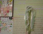 BABY GIRL Paper Bag Album Scrapbooking Kit 100+pc