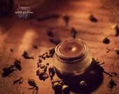 Jasmoon Solid Perfume. Natural Botanical Aroma Balm. Misterious, floral, night perfume. Vegan perfume.
