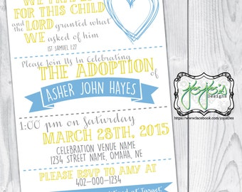 Adoption Celebration Invitation