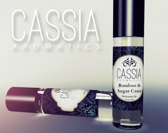 Oil Perfume Bamboo & Sugar Cane .33 oz.