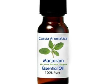 Marjoram Essential Oil Certified Pure Grade 100% Pure choose your size
