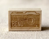 Rubber Stamp - Camera Do Not Bend