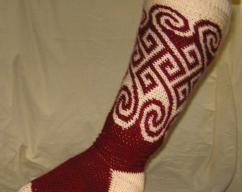 Wandering Path Boot Socks and Leg Warmers Pattern