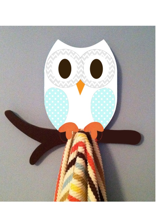 Items Similar To Owl Decor Owl Towel Rack Clothing Rack