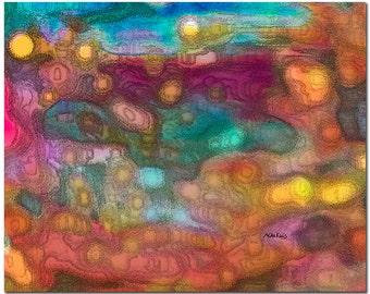 Abstract Print, Digital Abstract Art