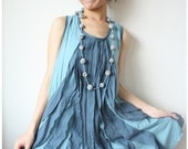 25% Off and Free Shipping Be cheery with Ocean Blue Dress, Blue dress, Sleeveless Dress, Sleeveless Blouse