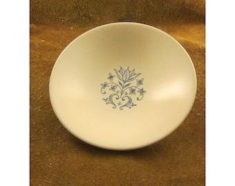 Sheffield Provincial Berry Bowl - Blue & White Folk Art Vintage Dinnerware