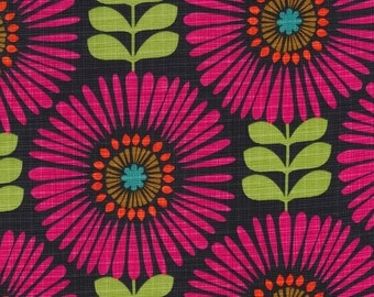 1/2 yard - Fringe Flowers in Magenda,  Michael Miller fabrics