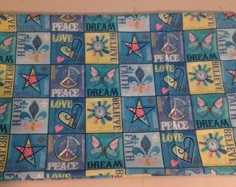 Pillowcase Believe, Wish, Love, Faith, Dream, Peace  243333