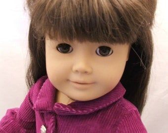 Purple Corduroy Jacket for American Girl Dolls