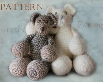 Crocheted Addy Bear Pattern