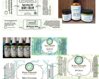 25 Custom Label Designs