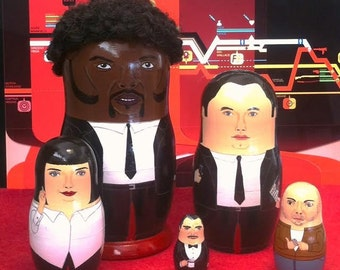 Pulp Fiction Matryoshka