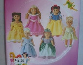 American Girl Dolls Disney Pattern,This is for 7 different outfits, 18 inch dolls