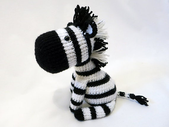 Amigurumi Askina Free Patterns : Crochet PATTERN PDF Amigurumi Zebra amigurumi pattern