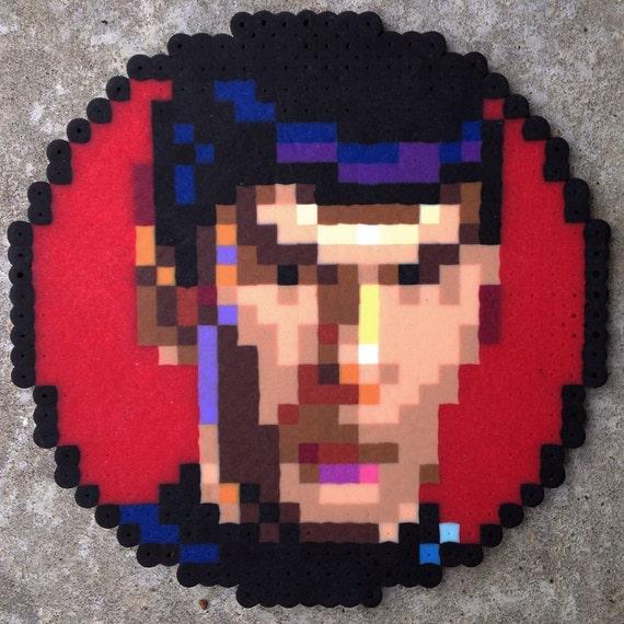 8 Bit Pixel Art Spock