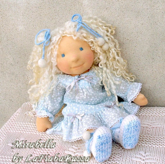 OOAK waldorf doll Mirabella