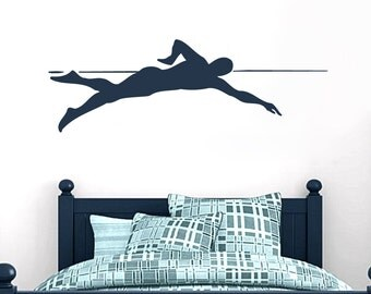 Swimmer - Sports Room Wall Decals