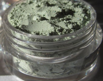 Bright Green Eye Shadow|High Shimmer Vegan Mineral Makeup Eye Shadow - Springtime
